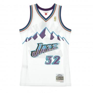 CANOTTA NBA SWINGMAN JERSEY KARL MALONE NO32 1996/97 HOME UTAJAZ Array