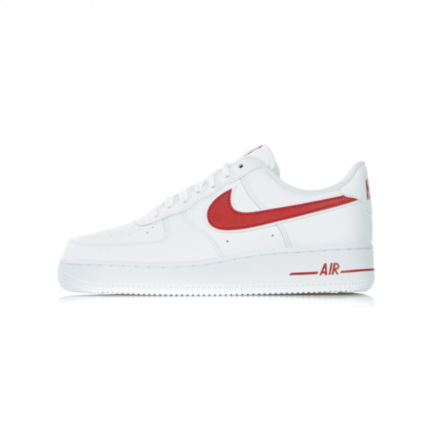 SCARPA BASSA AIR FORCE 1 07 3 WHITEGYM RED |