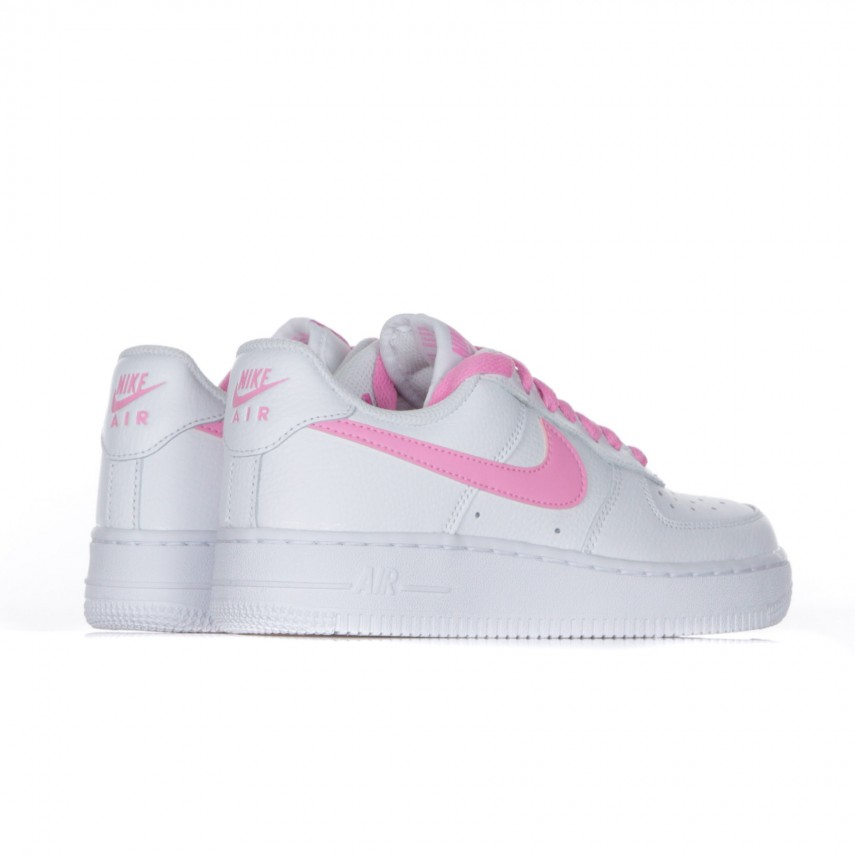 SCARPA BASSA W AIR FORCE 1 07 ESSENTIAL WHITEPSYCHIC PINK |