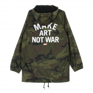 COACH JACKET MAKE ART NOT WAR 42