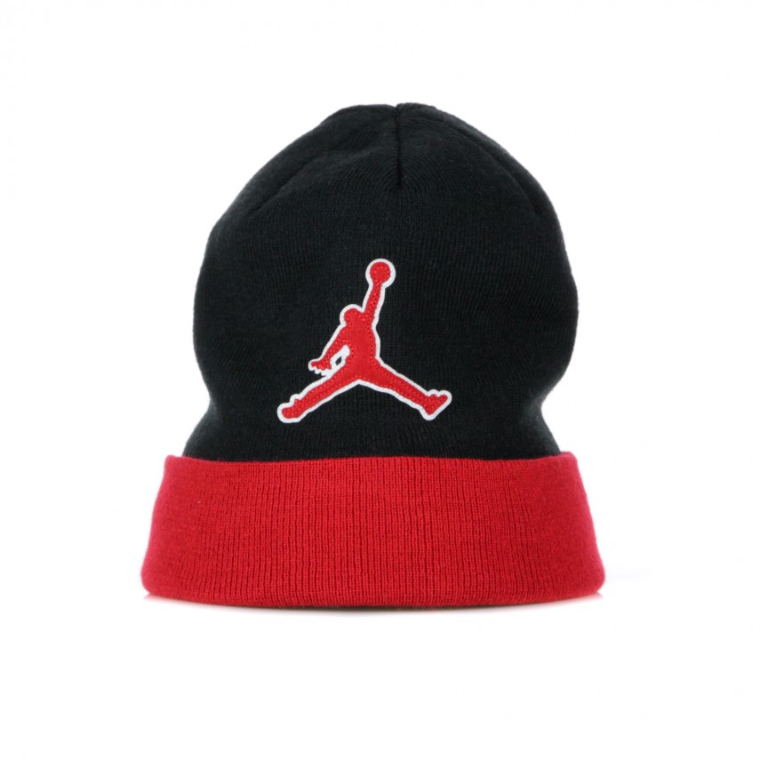 8afb7c9c3 BERRETTO LANA JORDAN BEANIE GRAPHIC BLACK/GYM RED | Atipicishop.com