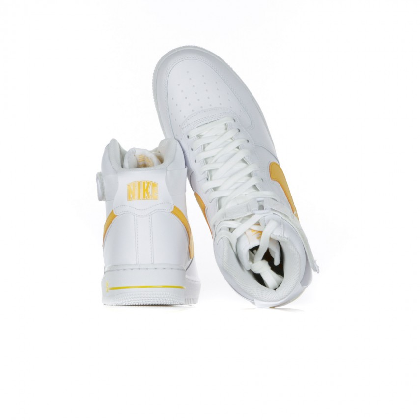 HIGH SHOE AIR FORCE 1 HIGH 07 3 WHITEUNIVERSITY GOLD