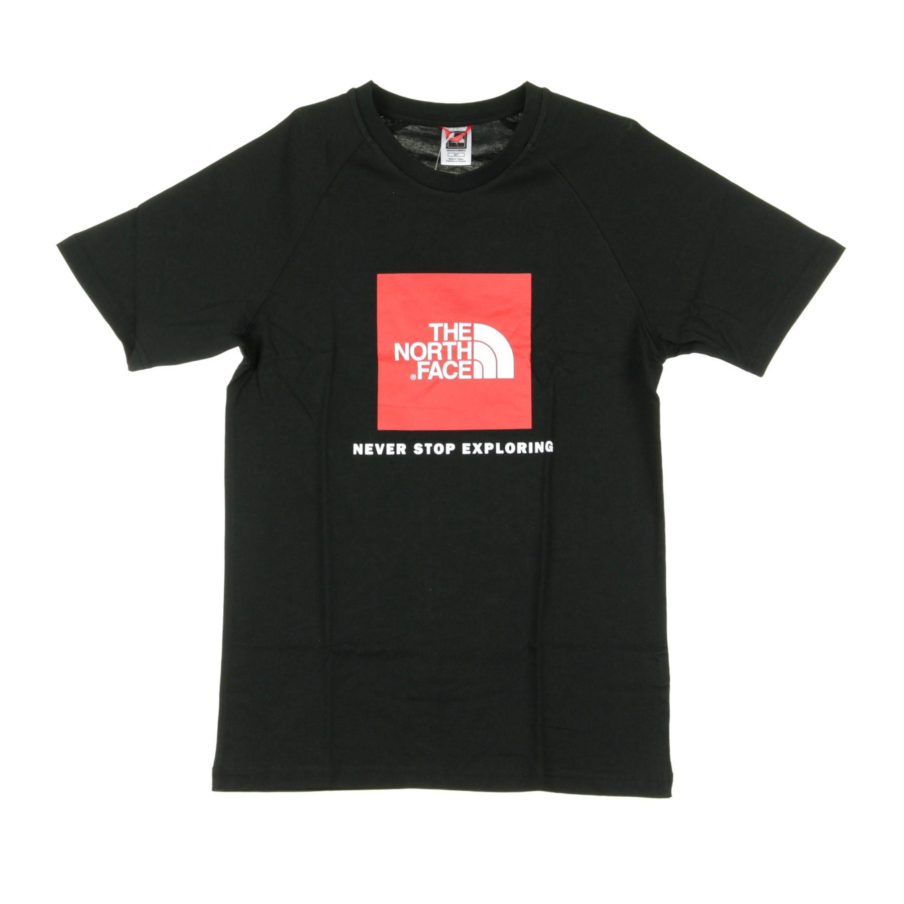 Tee Black Maglietta Red Rag Box 0wX8nNPZOk