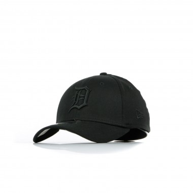 CAPPELLO VISIERA CURVA BLACK ON BLACK 3930 DETTIG 40