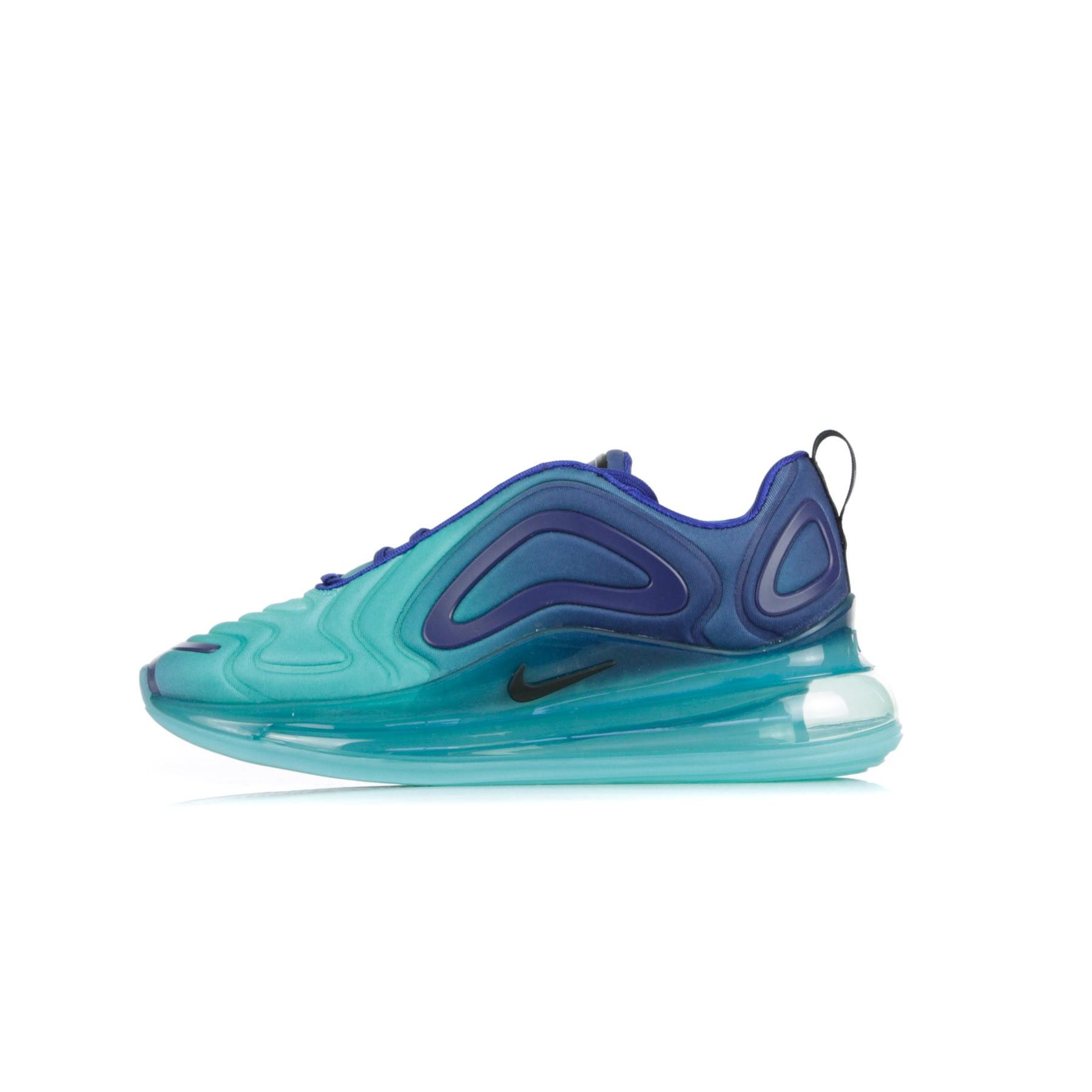 air max 720 bianche e azzurre