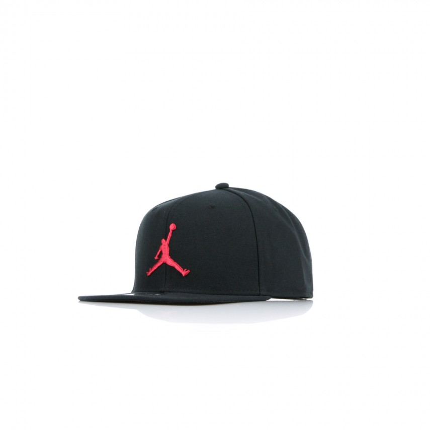 9721220a CAPPELLO SNAPBACK JORDAN PRO JUMPMAN SB BLACK/GYM RED | Atipicishop.com