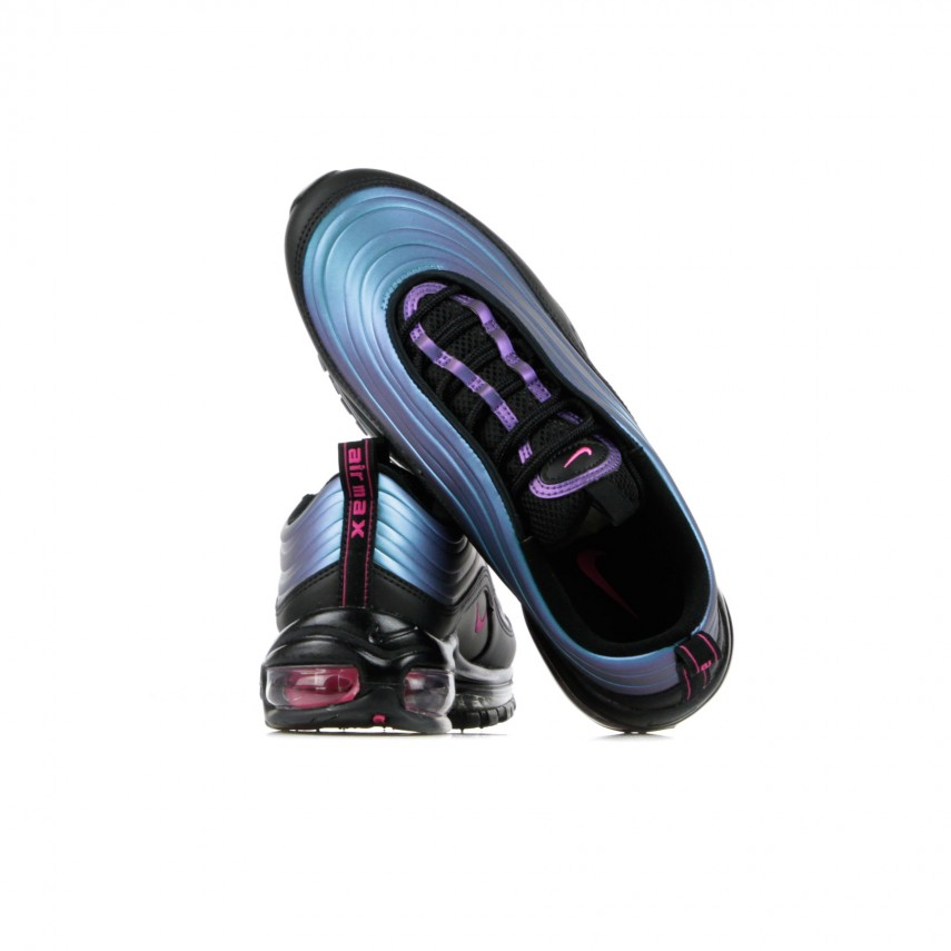 LOW SHOE AIR MAX 97 LX FUTURE PACK BLACKLASER FUCHSIATHUNDER GREY