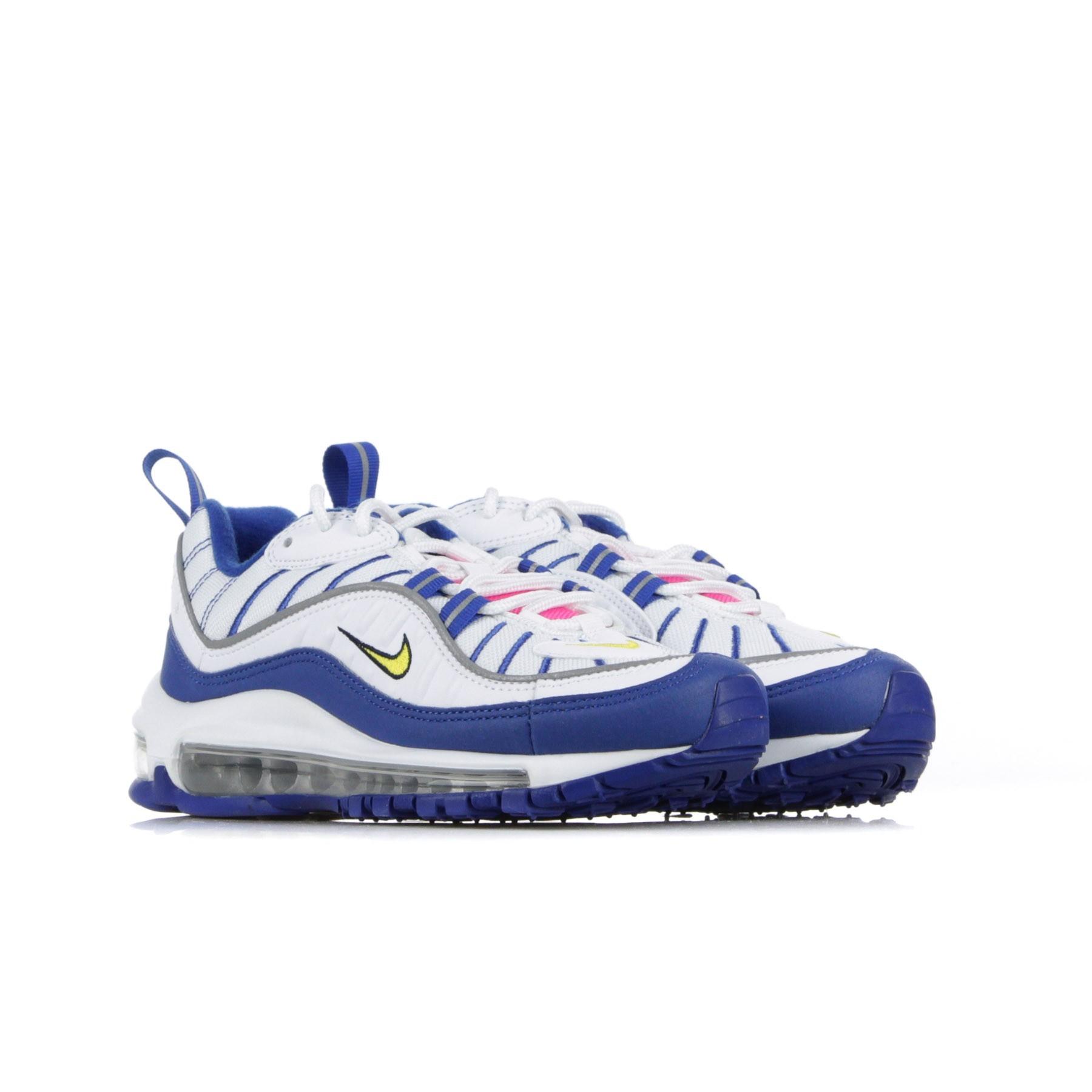 scarpa bassa bambino air max 98 WHITE/AMARILLO/INDIGO FORCE