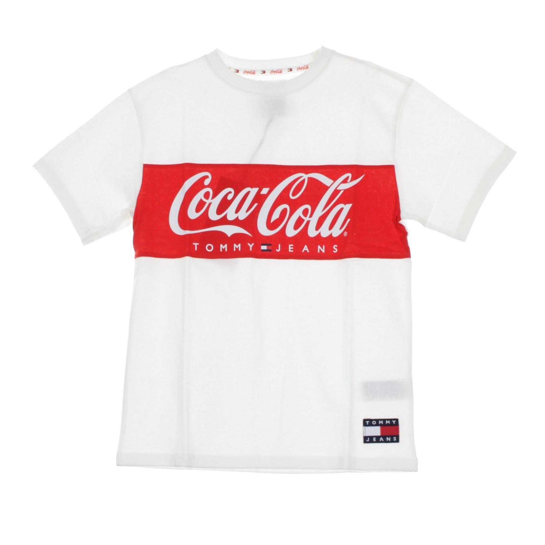 buy popular b7e85 74cc1 MAGLIETTA TOMMY X COCA COLA TEE BRIGHT WHITE | Atipicishop.com
