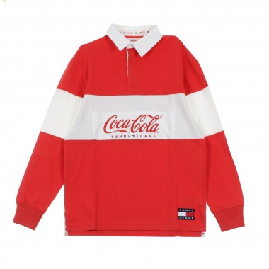 FELPA COLLEGE TOMMY X COCA COLA RUGBY 44