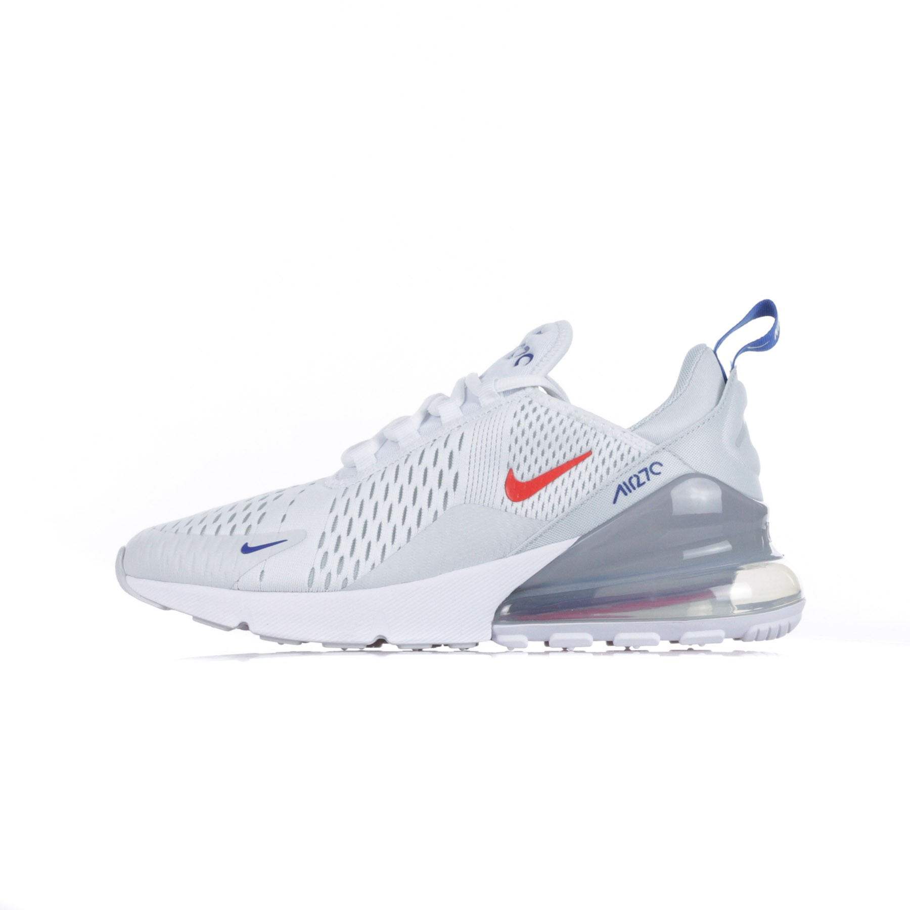 nike AIR MAX 270 WHITEHABANERO RED PURE PLATINUM bei
