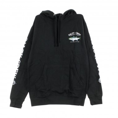 FELPA CAPPUCCIO STRIPER HOOD FLEECE
