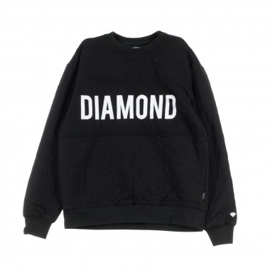 SWEATSHIRT QUILTED CREWNECK