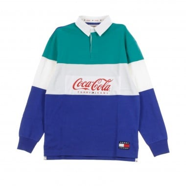 COLLEGE SWEATER TOMMY X COCA COLA RUGBY