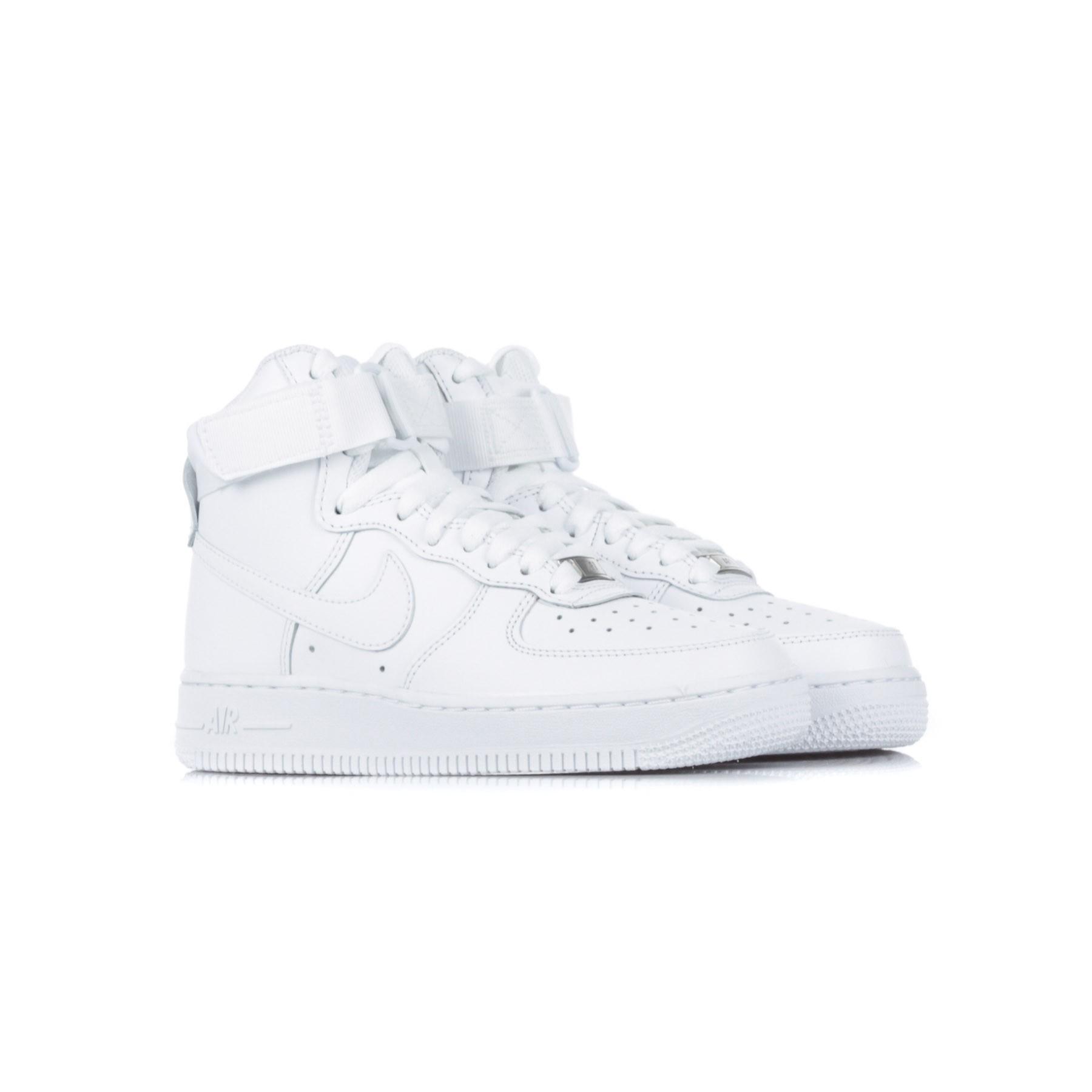 HIGH SHOE WMNS AIR FORCE 1 HIGH WHITE/WHITE/WHITE