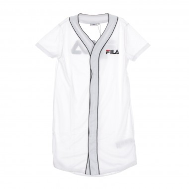 VESTITO ROBIN BUTTON BASEBALL DRESS