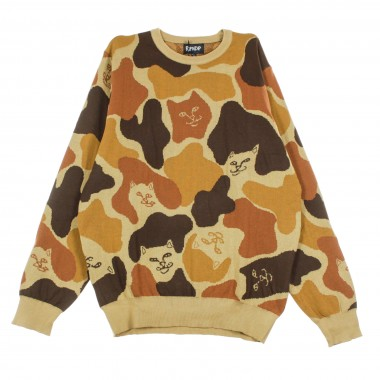 SWEATER NERM CAMO KNITTED SWEATER