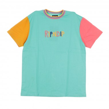 MAGLIETTA COLOR BLOCK MULTI PANEL TEE