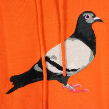 HOODED SWEATSHIRT PIGEON EMBROIDERED HOODIE
