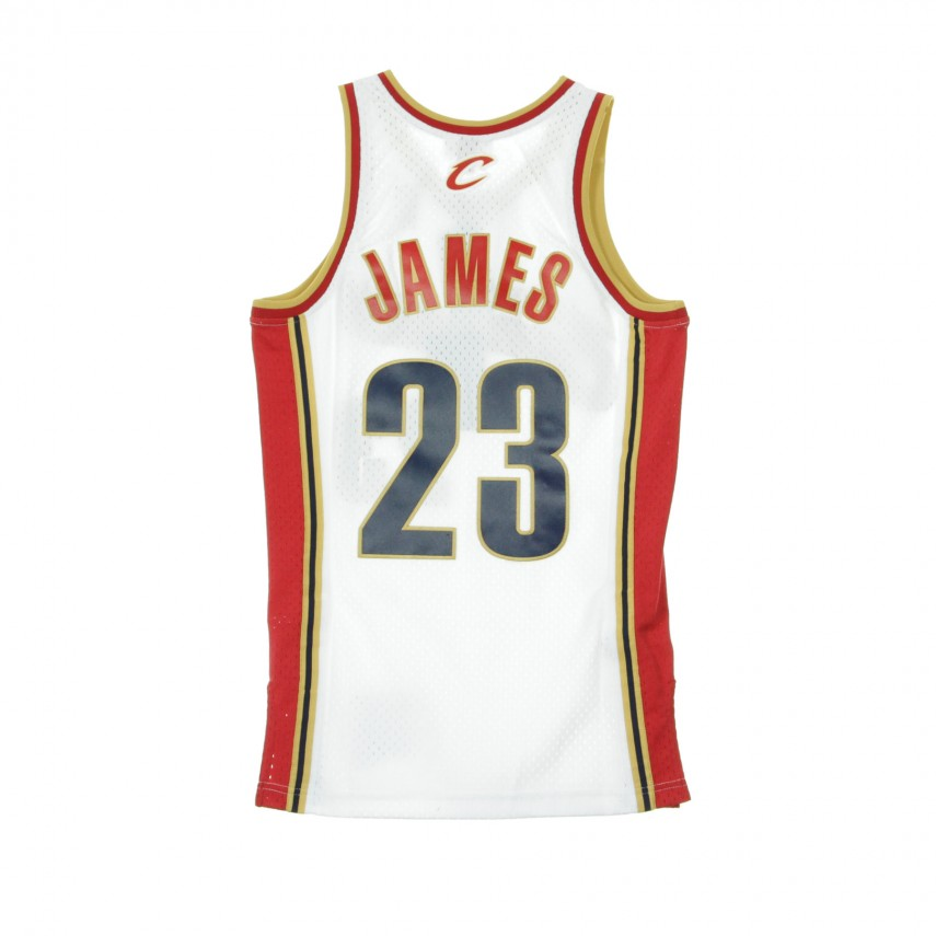 the latest 41775 70aa5 NBA SWINGMAN JERSEY LEBRON JAMES NO23 2003-04 CLECAV HOME ORIGINAL TEAM  COLORS