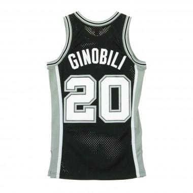 CANOTTA NBA SWINGMAN JERSEY MANU GINOBILI NO20 2002-03 SAASPU ROAD