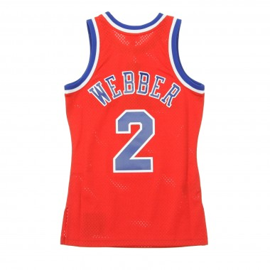 CANOTTA NBA SWINGMAN JERSEY CHRIS WEBBER NO2 1994-95 WASBUL ROAD