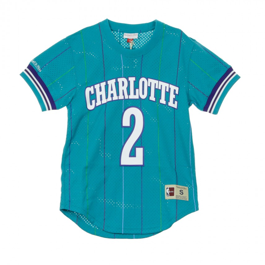 CASACCA NAME  NUMBER MESH CREWNECK LARRY JOHNSON NO2 CHAHOR S