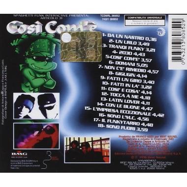 CD ARTICOLO 31 - COSI COME