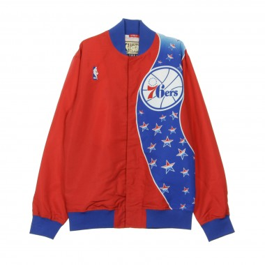 GIUBBOTTO GIACCA A VENTO NBA AUTHENTIC WARM UP JACKETS 1993-94 PHI76E S