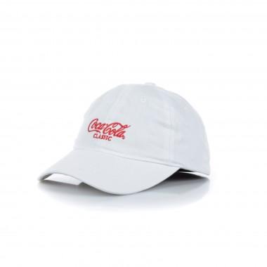 CAPPELLO VISIERA CURVA COCA COLA CLASSIC CAP