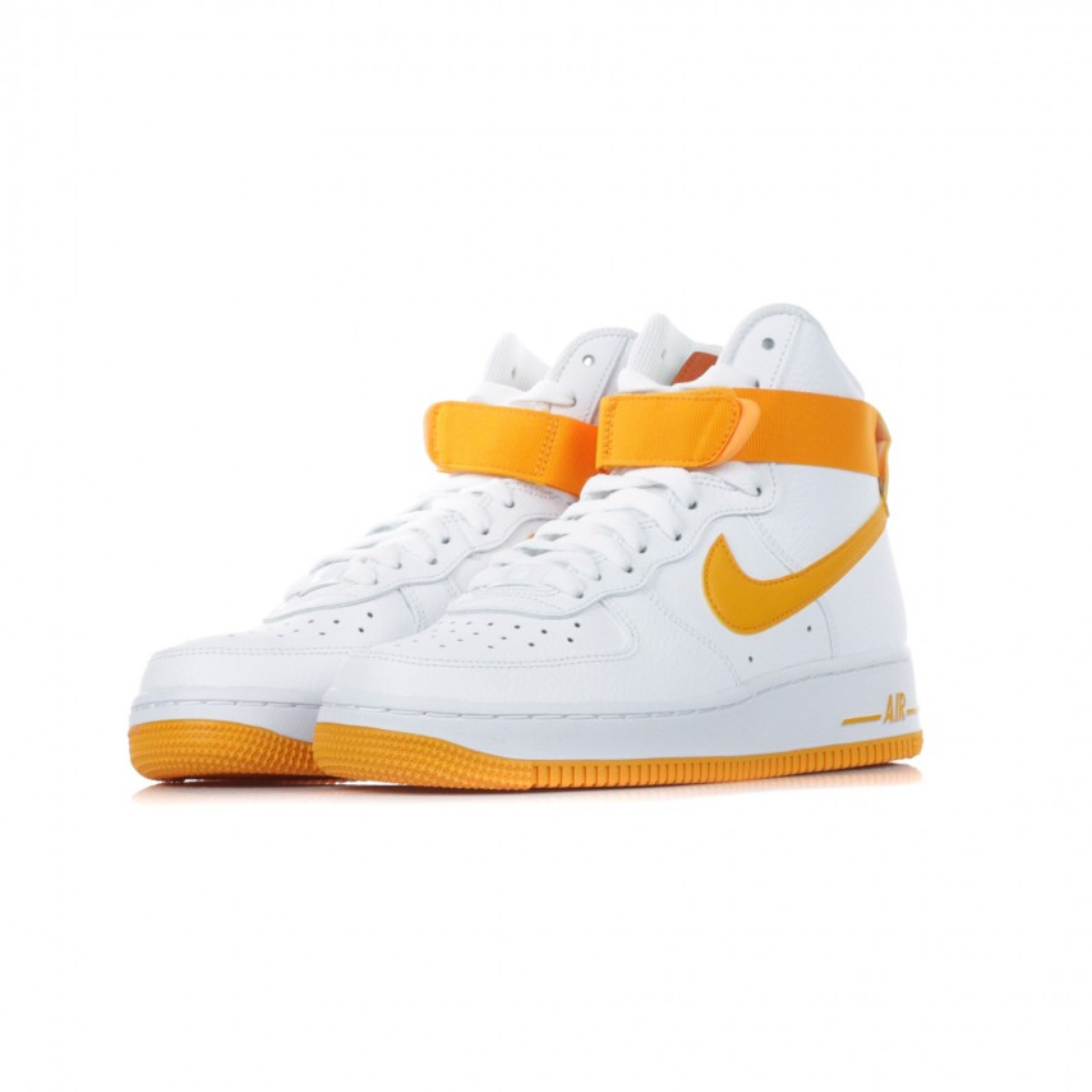 air force 1 con baffo arancione