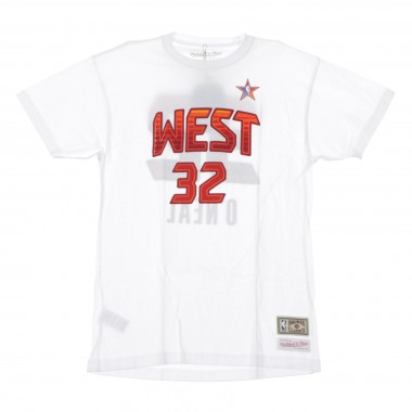MAGLIETTA NBA NAME  NUMBER TEE NO32 SHAQUILLE ONEAL ALL STAR WEST 2009 42.5