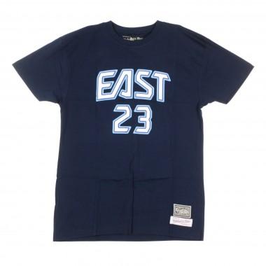 MAGLIETTA NBA NAME  NUMBER TEE NO23 LEBRON JAMES ALL STAR EAST 2009 42.5