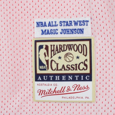 CANOTTA BASKET REVERSIBLE PRACTICE JERSEY NO32 MAGIC JOHNSON ALL STAR GAME EAST 1991 42.5