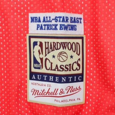 CANOTTA BASKET REVERSIBLE PRACTICE JERSEY NO3 PATRICK EWING ALL STAR GAME EAST 1991 42.5