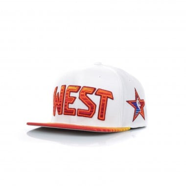 FLAT BILL CAP SNAPBACK ALL STAR 1991 NO32 SHAQUILLE ONEAL ALL STAR GAME WEST SUNSET SNAPBACK