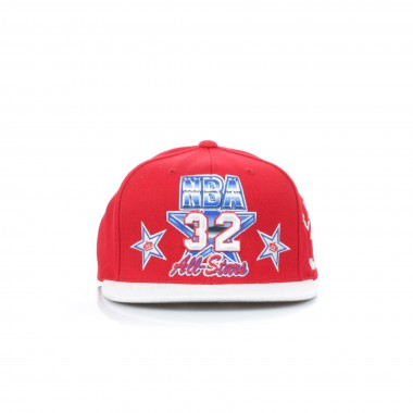FLAT BILL CAP SNAPBACK ALL STAR 1991 NO32 MAGIC JOHNSON ALL STAR GAME WEST EJ SNAPBACK