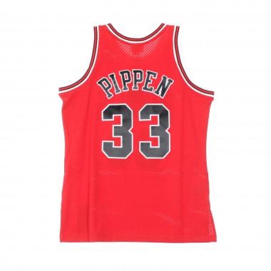 CANOTTA BASKET NBA SWINGMAN JERSEY SCOTTIE PIPPEN NO33 1997-98 CHIBUL ROAD