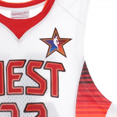 CANOTTA BASKET NBA SWINGMAN JERSEY MAGIC JOHNSON NO32 ALL STAR GAME WEST 2009 42.5