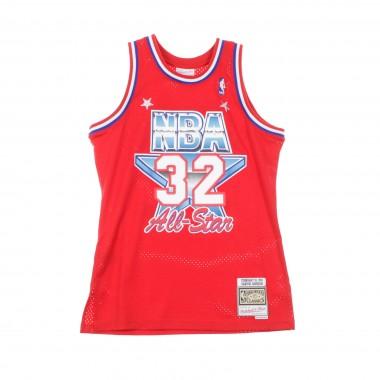 CANOTTA BASKET NBA SWINGMAN JERSEY MAGIC JOHNSON NO32 ALL STAR GAME WEST 1991 42.5