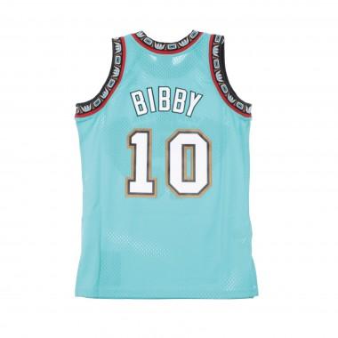 CANOTTA BASKET NBA SWINGMAN JERSEY MIKE BIBBY NO10 1998-99 VANGRI ROAD 42.5