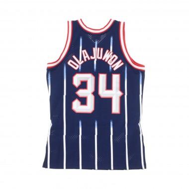 CANOTTA BASKET NBA SWINGMAN JERSEY HAKEEM OLAJUWON NO34 1996-97 HOUROC ROAD 42.5
