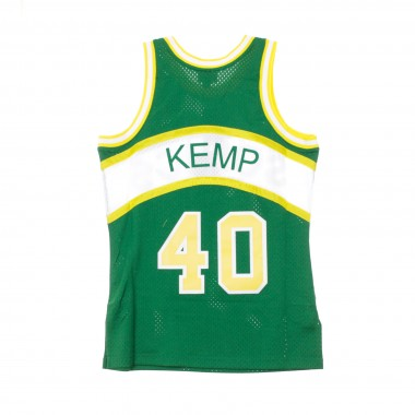 CANOTTA BASKET NBA SWINGMAN JERSEY SHAWN KEMP NO40 1994-95 SEASUP ROAD 42.5