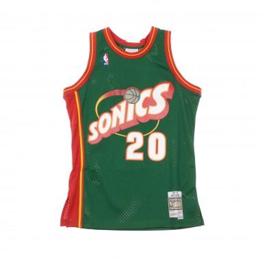 CANOTTA BASKET NBA SWINGMAN JERSEY GARY PAYTON NO20 1995-96 SEASUP ROAD 42.5