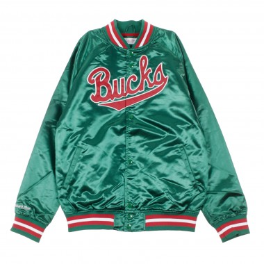 GIUBBOTTO BOMBER NBA LIGHTWEIGHT SATIN JACKET MILBUC