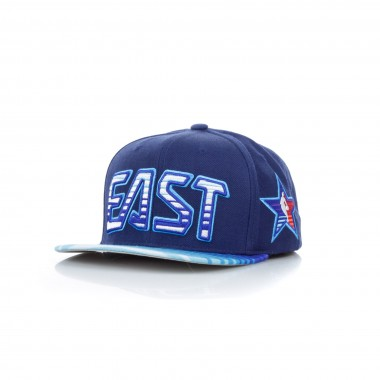 FLAT BILL CAP SNAPBACK ALL STAR 1991 NO1 ALLEN IVERSON ALL STAR GAME EAST SUNRISE SNAPBACK