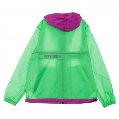 WINDBREAKER HONEYCOMB HOODED JACKET