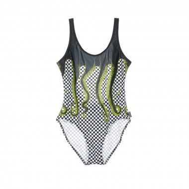 COSTUME CHECKERED SWIMSUIT 42.5