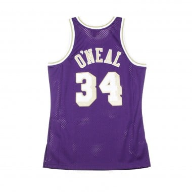 BASKET NBA CHINESE NEW YEAR EDITION SWINGMAN JERSEY SHAQUILLE ONEAL NO34 1996-97 LOSLAK ROAD