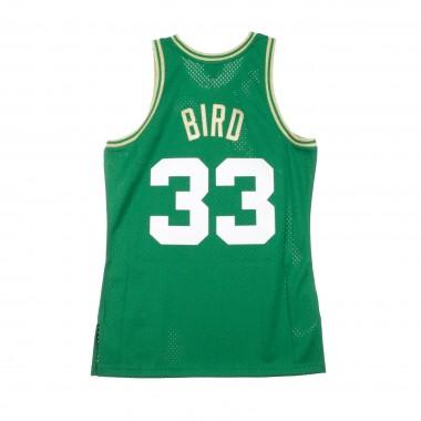 BASKET NBA CHINESE NEW YEAR EDITION SWINGMAN JERSEY LARRY BIRD NO33 1985-86 BOSCEL ROAD